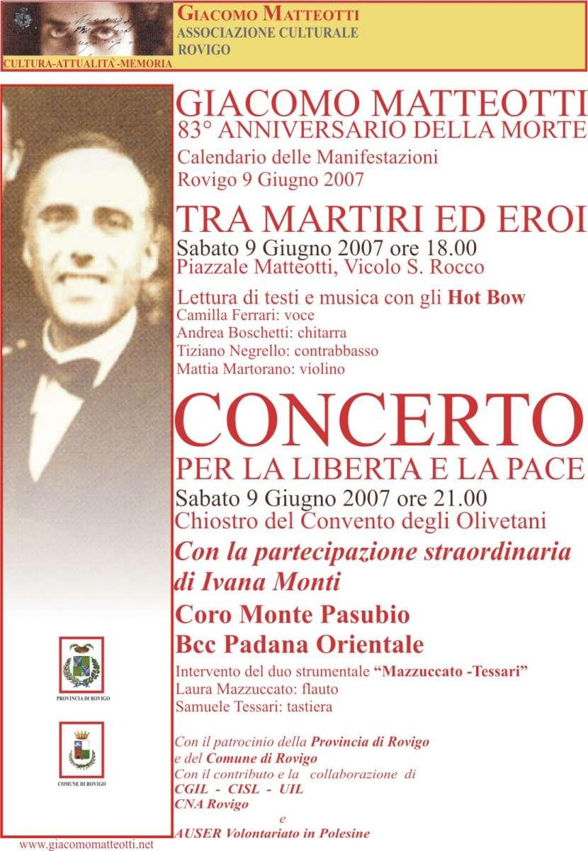 Concerto giugno 2007